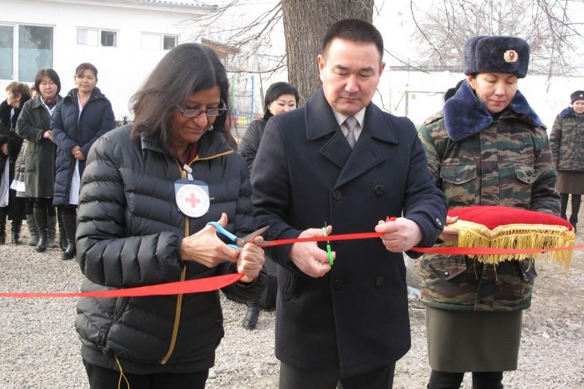 Кыргызстан: деятельность МККК в 2017 г.