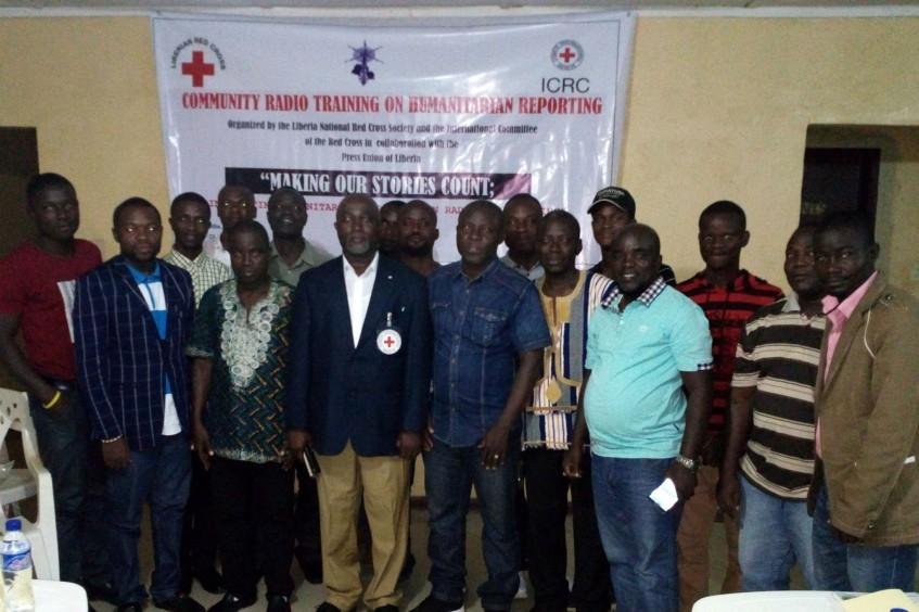 利比里亚:红十字、利比里亚新闻联合会携手举办人道报道媒体培训班