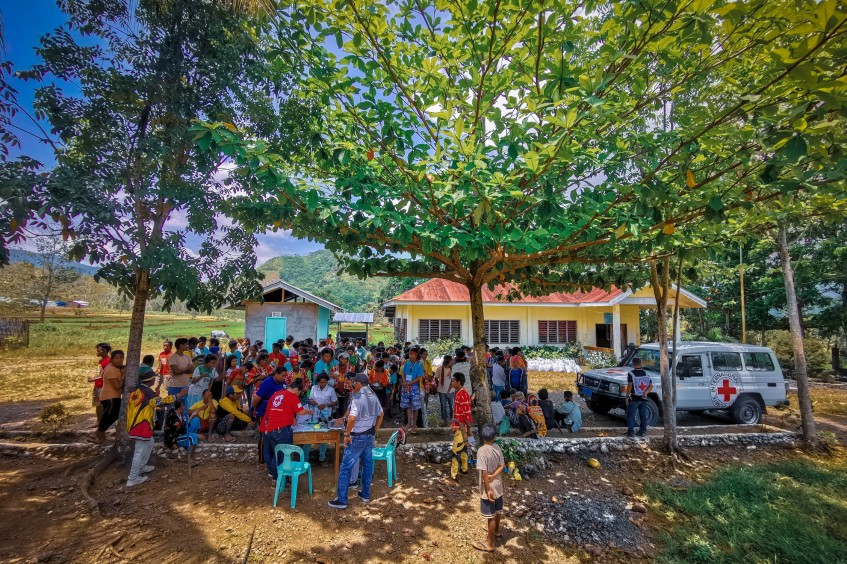 Displaced for months, families in Bukidnon receive aid