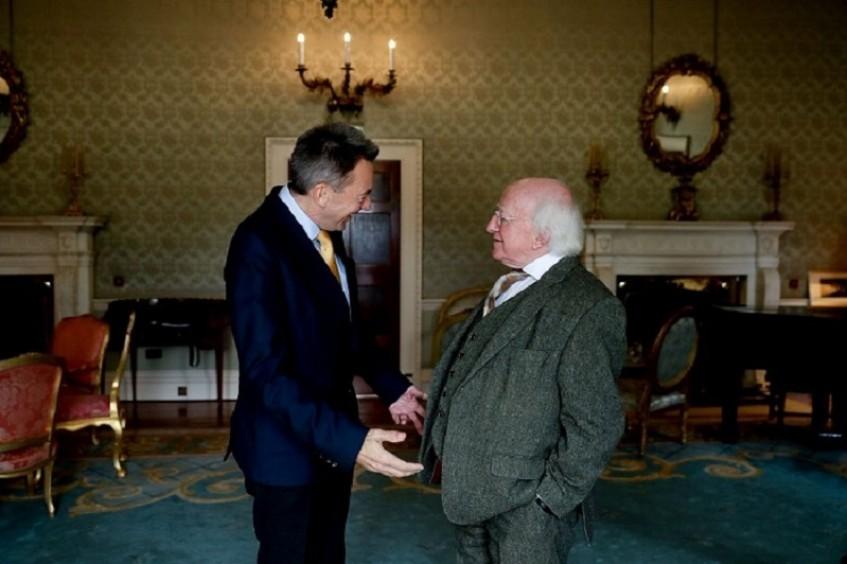 红十字国际委员会主席首次访问爱尔兰