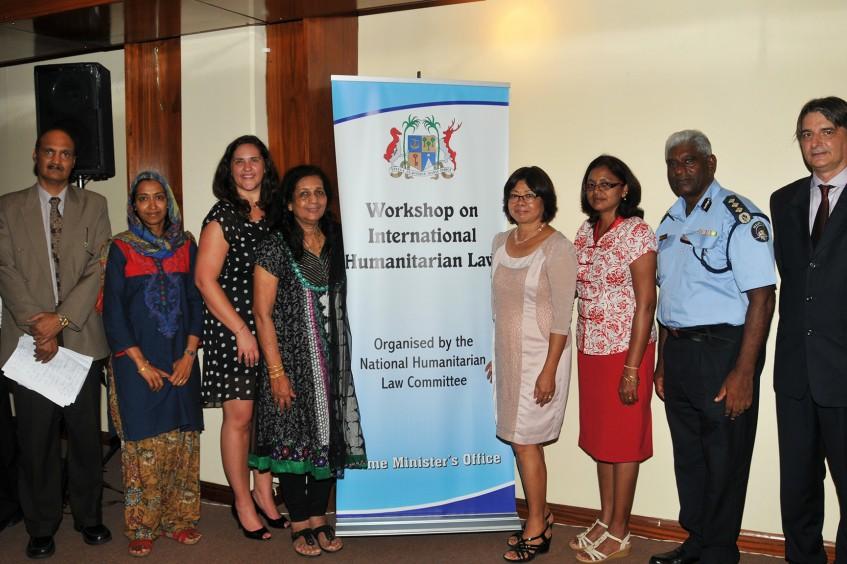 Mauritius und die Seychellen: Verfechter des humanitären Völkerrechts