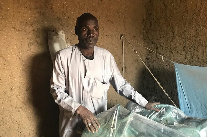 Moustapha : histoire d'une vie bouleversée par le conflit