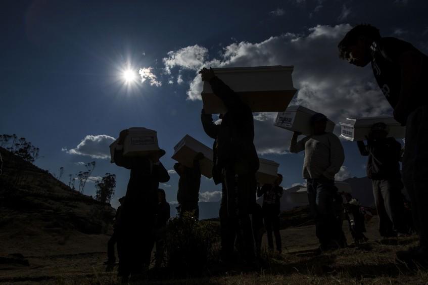 Acompañar a los familiares de desaparecidos en Perú