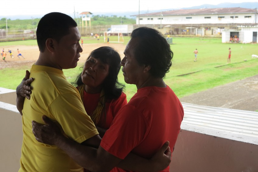After years of no news, a family is reunited with their son imprisoned in Panama