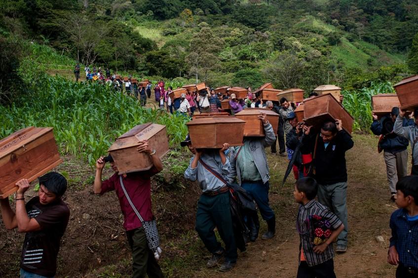 Disparus au Guatémala : une sépulture décente, un dernier adieu