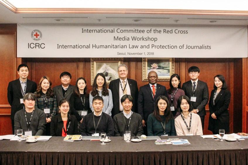 Republik Korea: Workshop zum humanitären Recht zum Schutz von Journalisten