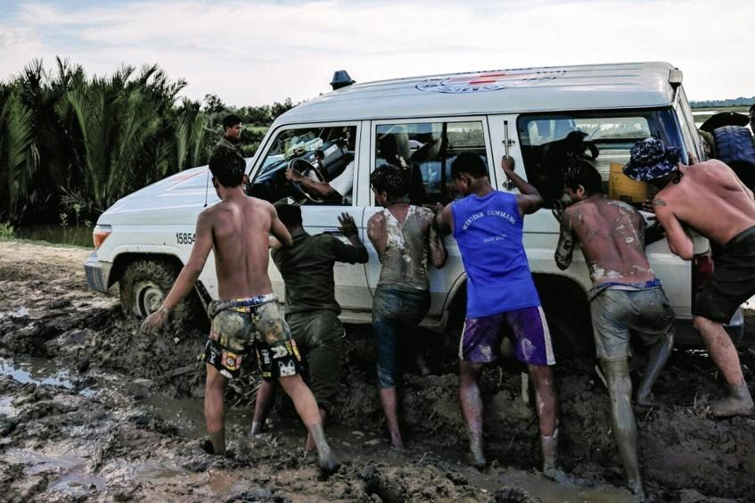 Rakhine, Myanmar: dezenas de milhares de pessoas ajudadas apesar dos desafios