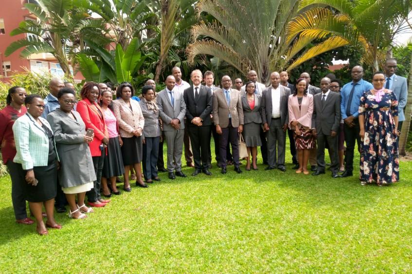 Rwanda: 30 judges and court registrars complete advanced IHL training