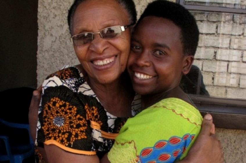 Ruanda: Eliane encuentra a su familia tras veinticuatro años de separación
