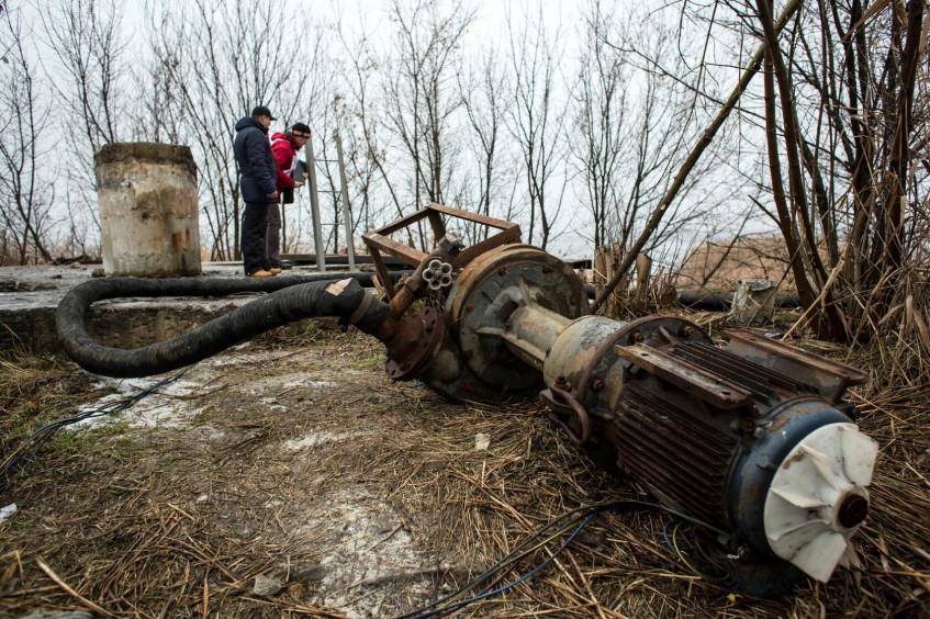 在顿巴斯受冲突影响地区确保供水