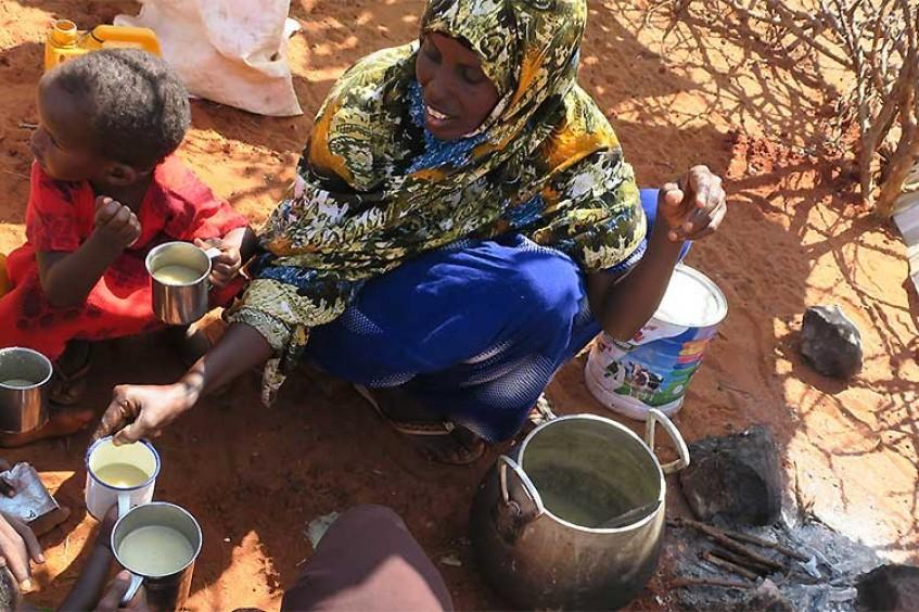 Une aide alimentaire pour 90 000 personnes touchées par la sécheresse en Somalie