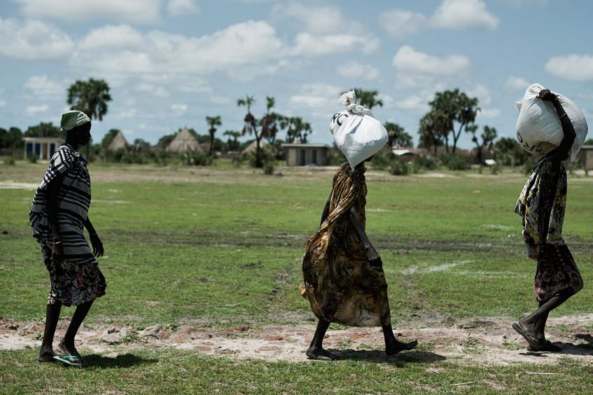 الفوضى عنوان حياة النزوح في جنوب السودان