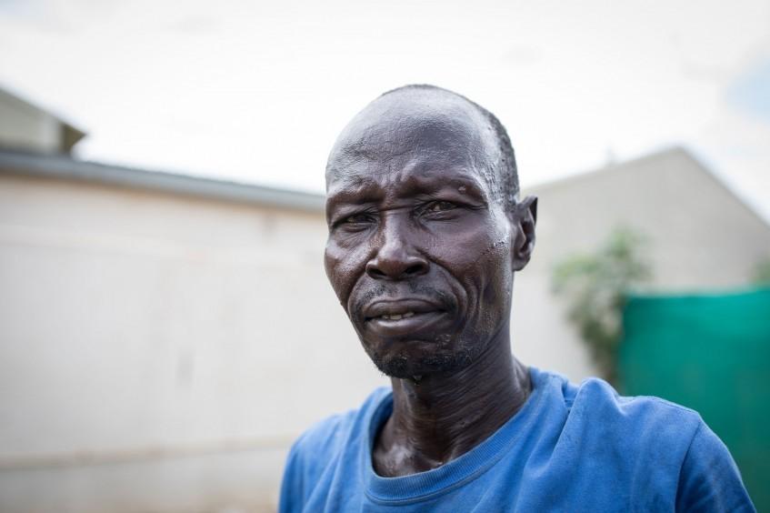 南苏丹:曾经的士兵,如今的园丁,丹尼尔的复原之路