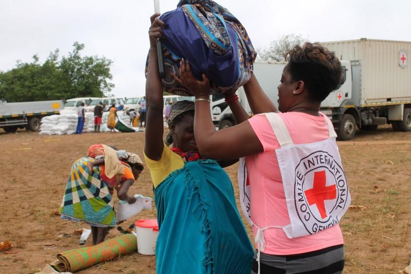 帮助非洲南部需要人道帮助的社区
