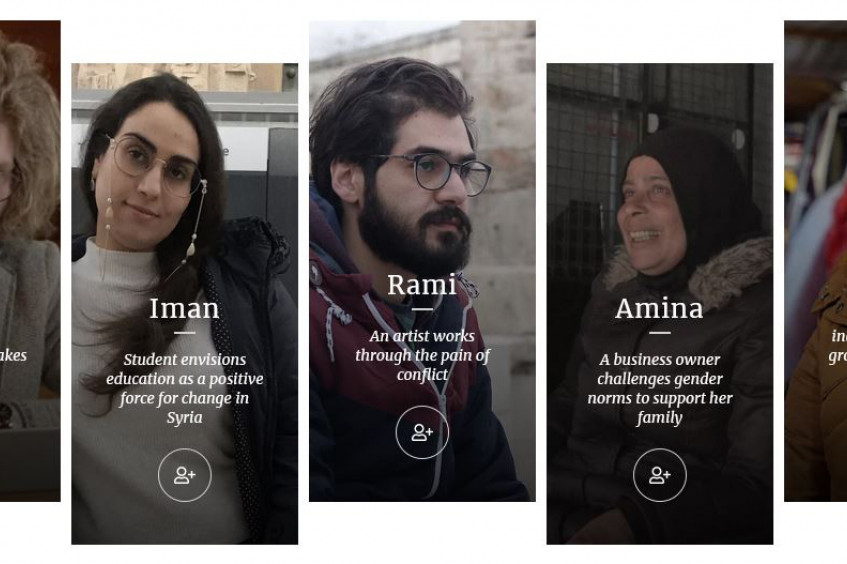 """In their own words"": Young Syrians speak out about the conflict and their future"