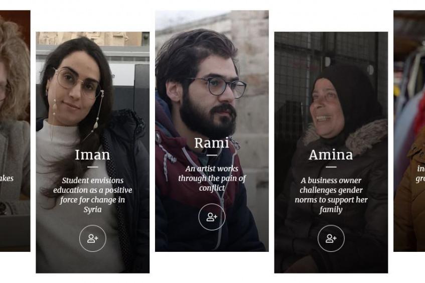 """""""亲口讲述"""":叙利亚冲突如何颠覆他们的生活"""