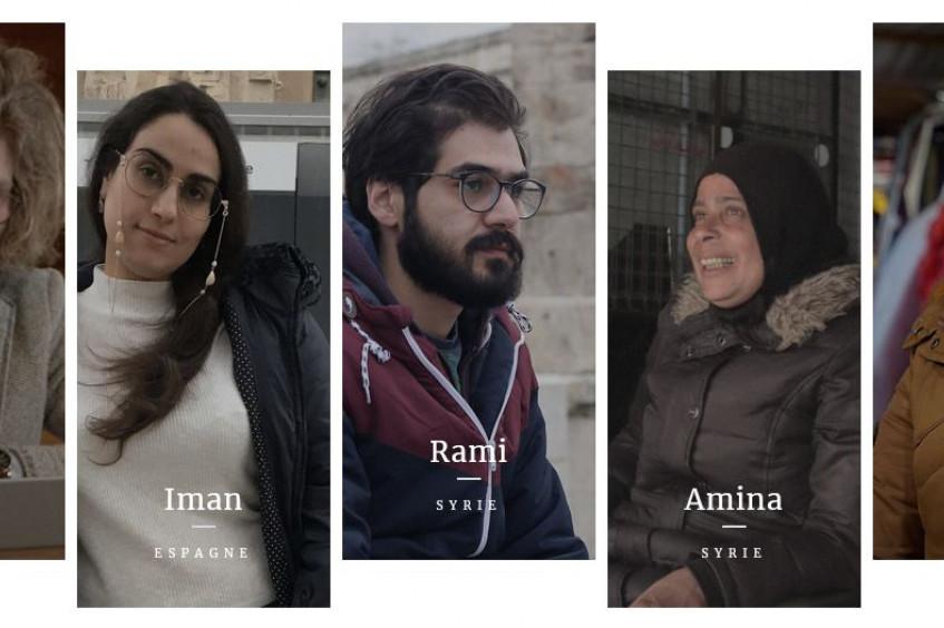 « Avec leurs mots à eux » : de jeunes Syriens parlent du conflit et de leur avenir