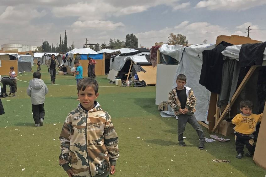 النزوح من الغوطة الشرقية