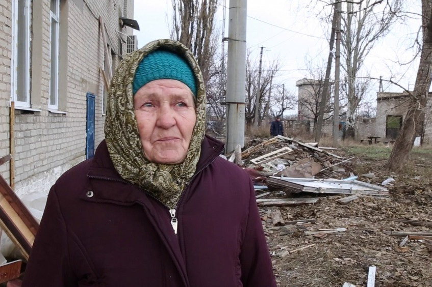 """أوكرانيا: سكان """"نيكيشني"""" يستعدون لفصل الشتاء"""