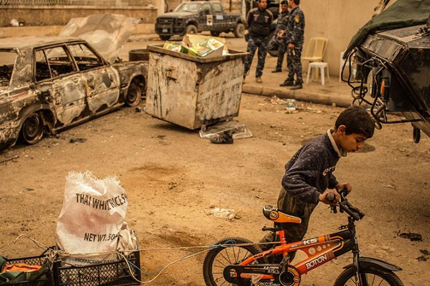Ирак, Йемен и Сирия: в 5 раз больше гражданских погибает при войне в городах