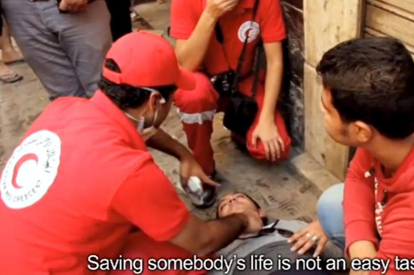 Ägypten: Ausbildung des Ägyptischen Roten Halbmonds zur Reaktion in Notsituationen