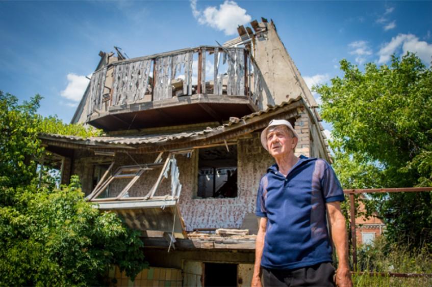 Ukraine : À Vodiane, sept familles demandent au monde de ne pas les oublier