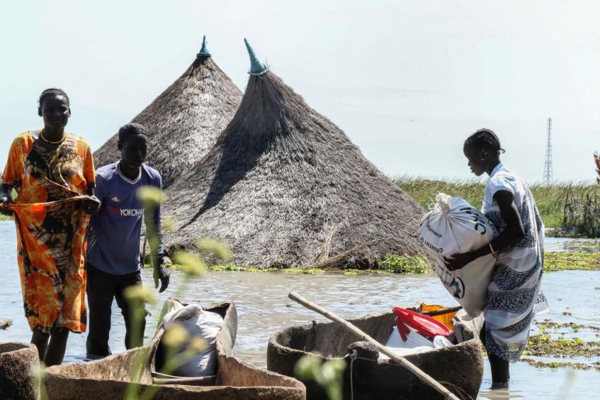 南苏丹:洪灾加剧饥荒和动荡局势的影响