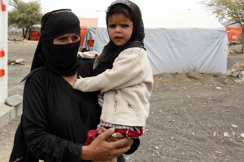 اليمن: حكايات النزوح الحزين