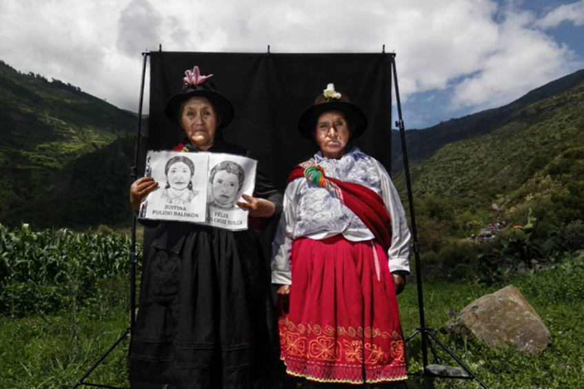 Peruana Ángela Ponce Romero - premio Visa de Oro humanitaria del CICR