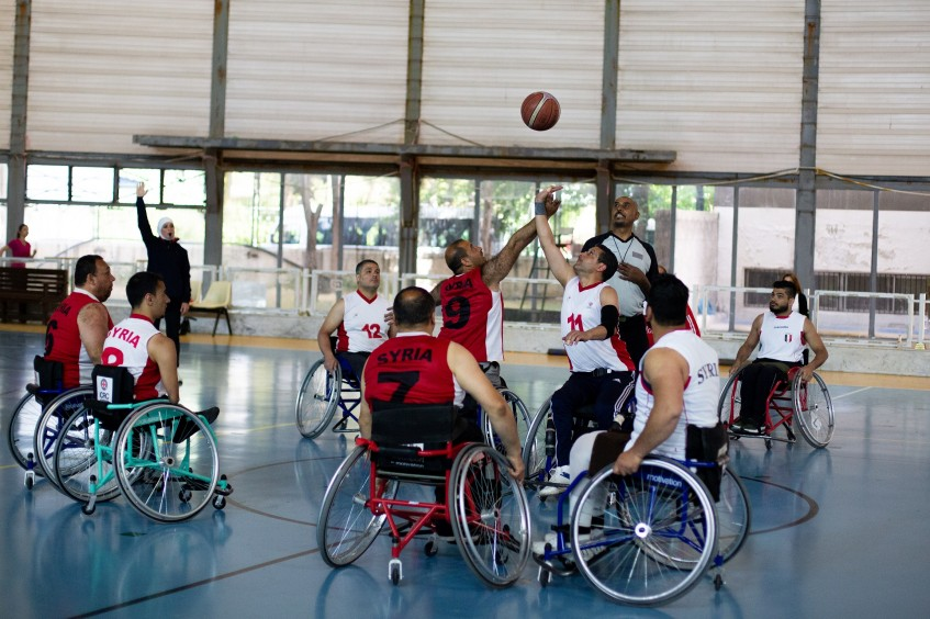 How wheelchair basketball supports social inclusion in Syria