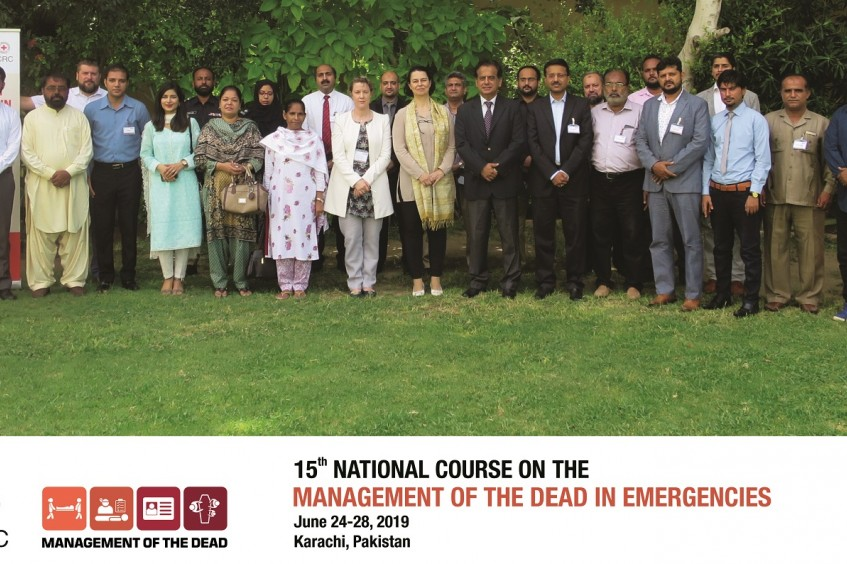 Pakistan: ICRC completes 15th National Course on Management of the Dead in Emergencies