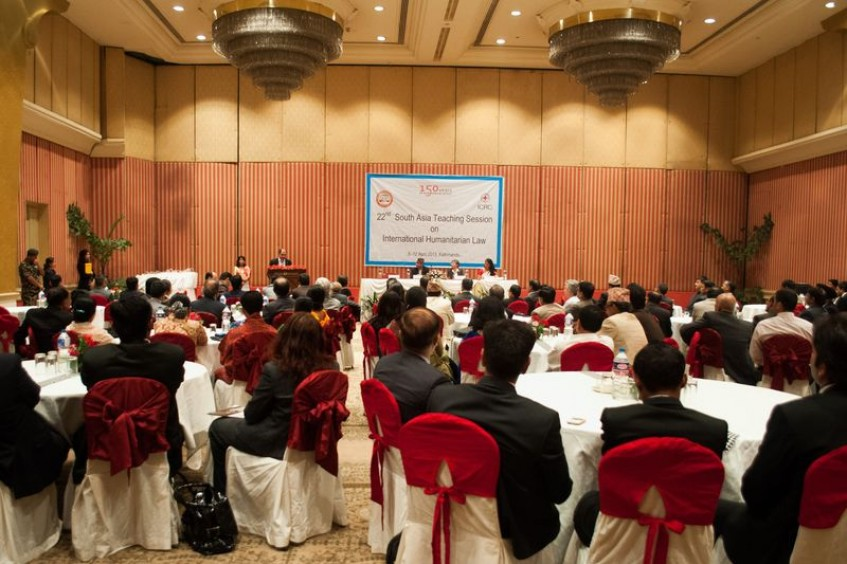 Nepal: Fifty South Asians share perspectives on international humanitarian law