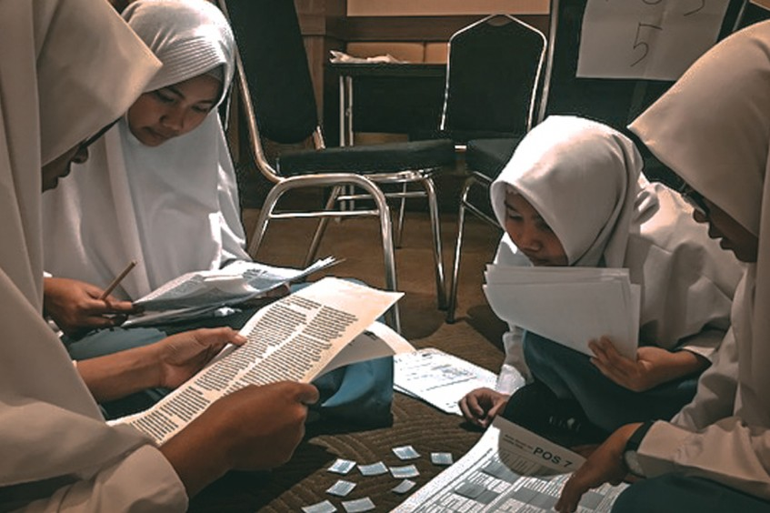 ICRC strengthens collaboration with teachers from one of Indonesia's oldest Islamic organizations