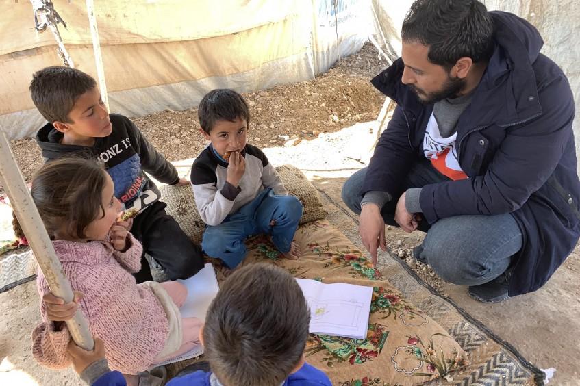 Relatório de operações na Síria: 6,5 mil refeições diárias para ajudar as crianças desacompanhadas vulneráveis