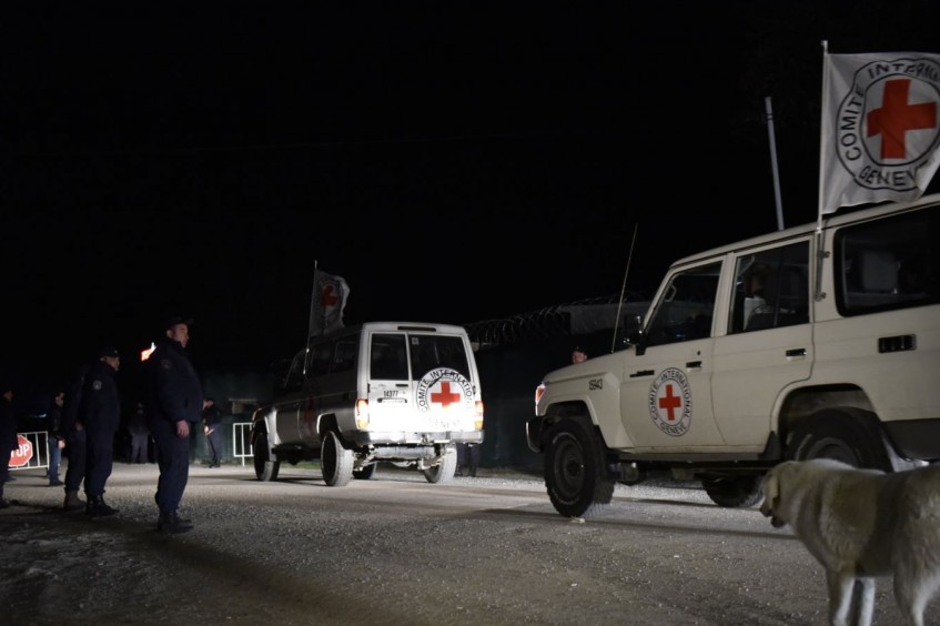 Transfer of remains of Archil Tatunashvili