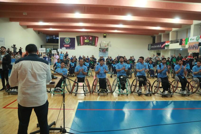 Afghanistan wins 1st Annual Hanna Lahoud International Wheelchair Basketball Tournament
