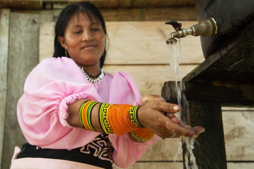 巴拿马:雨水是安全用水