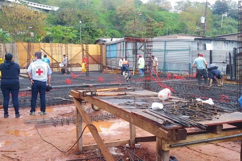 ACNUR y CICR construyen un albergue para personas migrantes, refugiadas y solicitantes de asilo en Coatzacoalcos