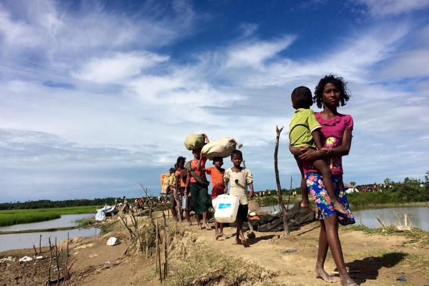 扩大孟加拉国人道应对行动规模