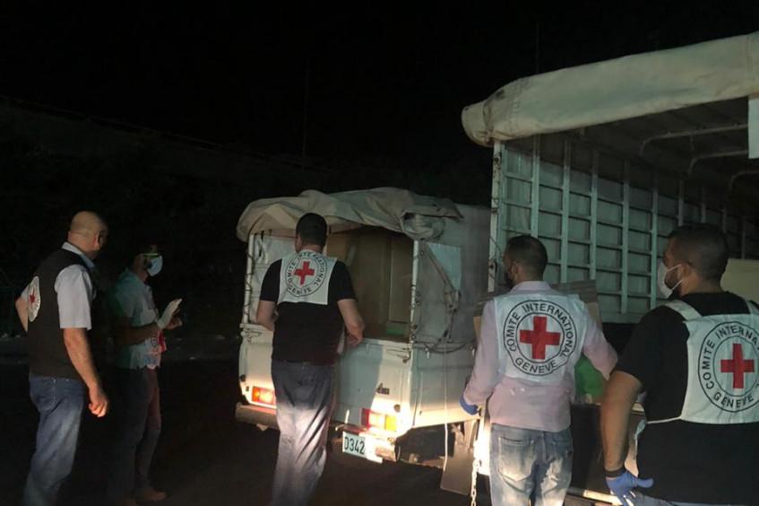 Beirute: CICV entrega material médico a 12 hospitais e busca doadores de sangue