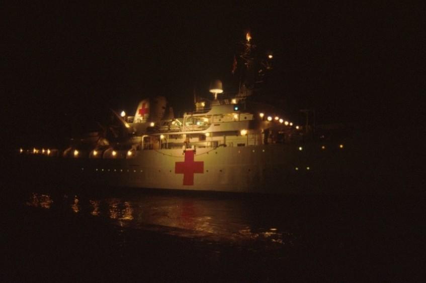 Conflicto del Atlántico Sur: la labor del CICR en imágenes