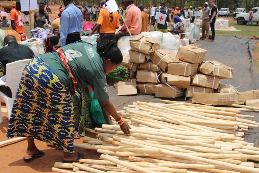 Burundi : 2000 familles vulnérables reçoivent semences et outils agricoles