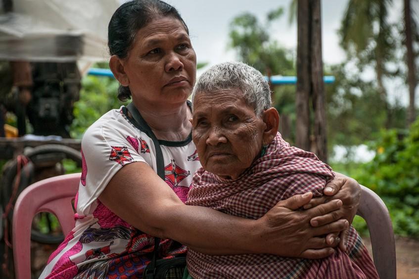 'My daughter, I'm still alive'
