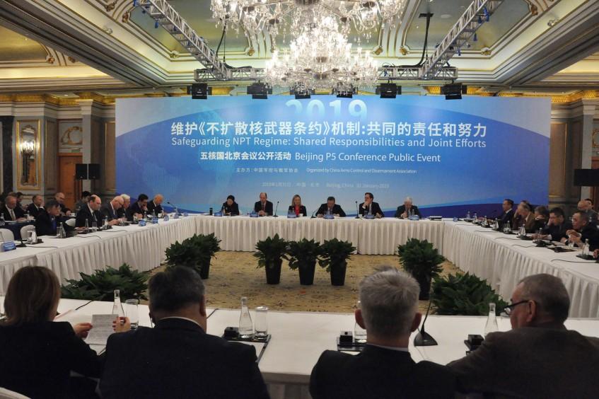 红十字国际委员会参加中国军控与裁军协会举办的五核国会议会间公开活动