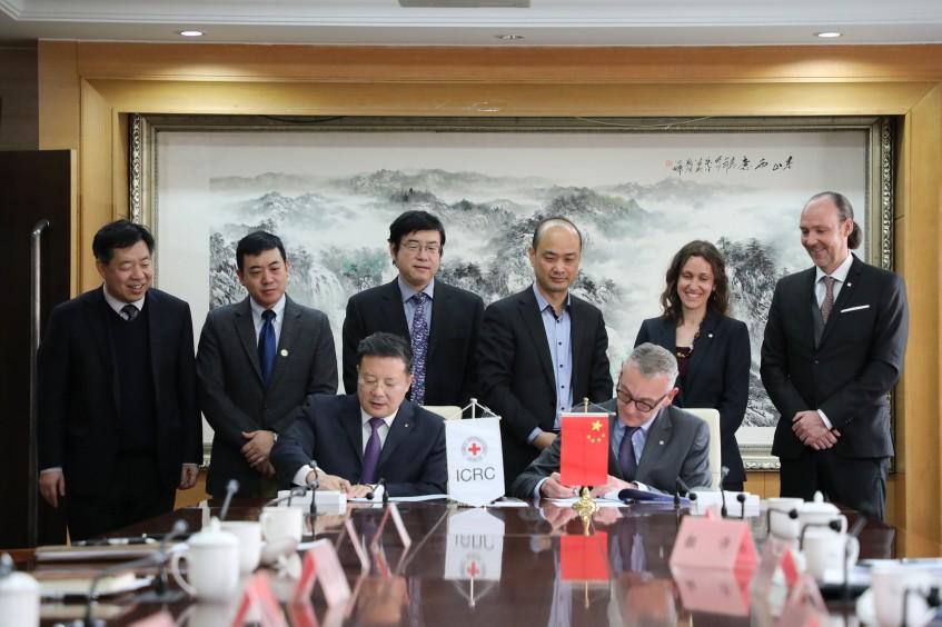 China: IKRK und CDPF unterzeichnen Vereinbarung zur Verbesserung der Versorgung behinderter Menschen