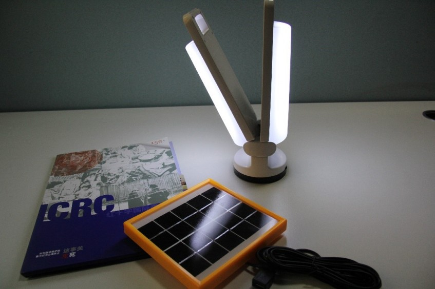 Solar lamps: Bringing together innovation and technology to people caught in war