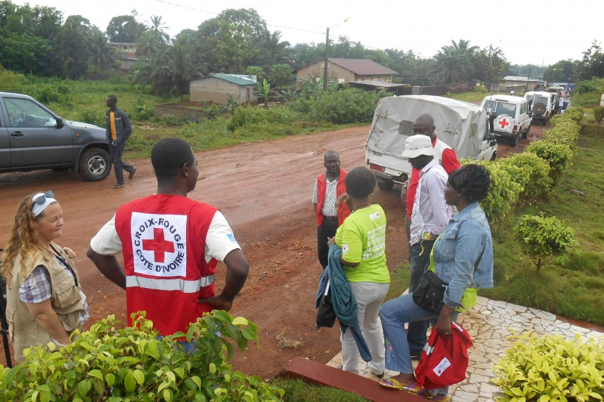 Côte d'Ivoire: Displaced persons receive emergency aid