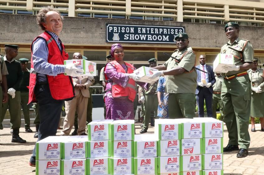 Kenia: Rotes Kreuz im Einsatz gegen die Ausbreitung von COVID-19 in Gefängnissen