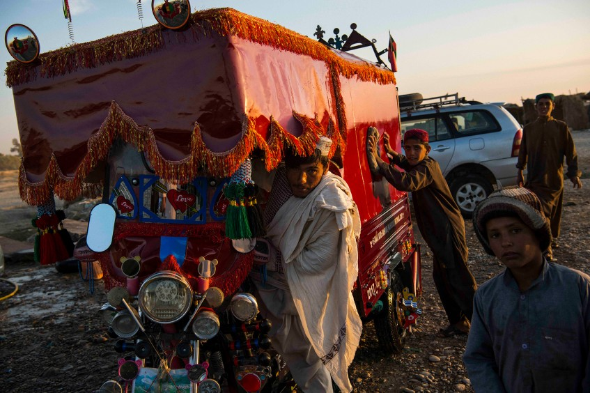 Afghanistan: A young man on the road to a new found life