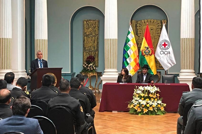 Bolivia: se realiza con éxito el VI Curso de Derecho Internacional Humanitario (DIH) para funcionarios públicos